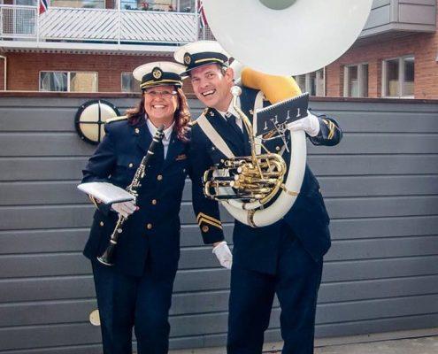 Tønsberg Janitsjarkorps medlemmene