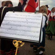 Tønsberg Janitsjarkorps på Tønsberg Slottsfjellet