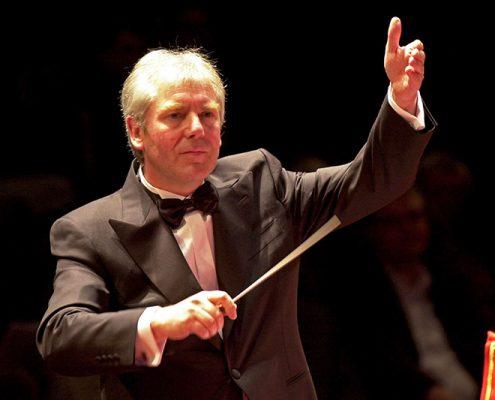 Dirigenten Ray Farr Tønsberg Janitsjarkorps